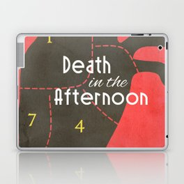 Death in the Afternoon, Erenst Hemingway, book cover, classic novel, bullfighting stories, Spain Laptop & iPad Skin
