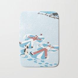 Snow Angels Bath Mat