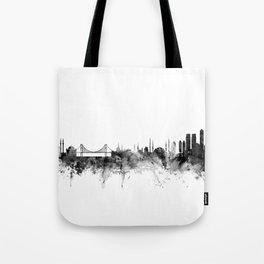 Istanbul Turkey Skyline Tote Bag