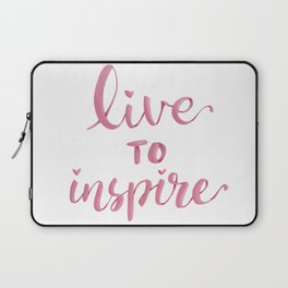 Live to inspire Laptop Sleeve