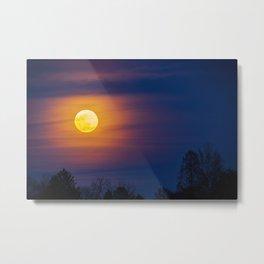 Worm Moon Over Allentown Metal Print