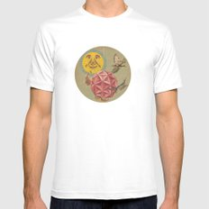 casbah MEDIUM White Mens Fitted Tee