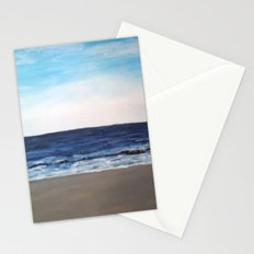 wagon on the beach Stationery Cards