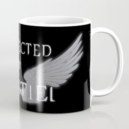 Protected by Castiel White Wings Coffee Mug