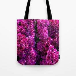 flwers in lilla Tote Bag
