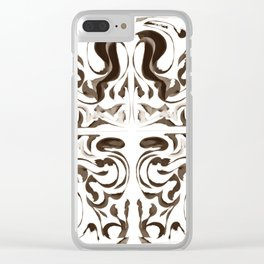 Sepia Clear iPhone Case