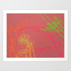 Paradise Drift Art Print