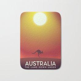 Australia travel poster. Bath Mat