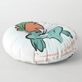 Find a Way Floor Pillow