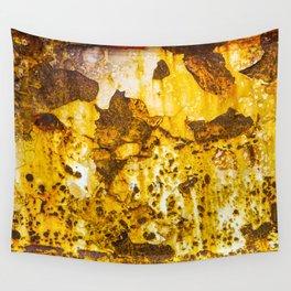 Rusting metal Wall Tapestry