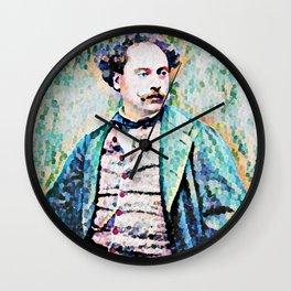 Richard Georg Strauss (1864 – 1949) (digitized photograph) Wall Clock