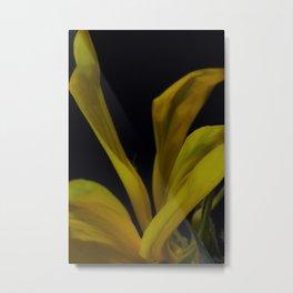 soft yellow leaves Metal Print