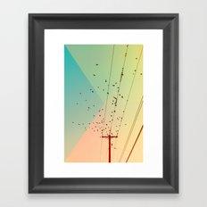 Cool World #1 Framed Art Print