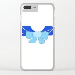 Sailor Mercury Bow Clear iPhone Case