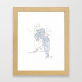 Asta Framed Art Print