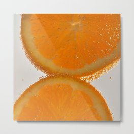 Orange you glad you stopped by? Metal Print