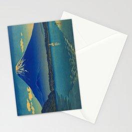 Tsuchiya Koitsu Vintage Japanese Woodblock Print Mount Fuji Stationery Cards