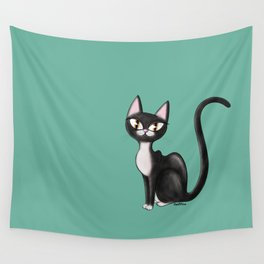 tux coot Wall Tapestry