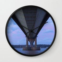 Beneath the Humber Bridge Wall Clock