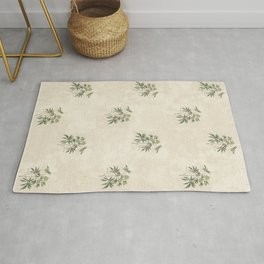 The Christmas Rose Rug
