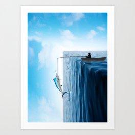 Fisherman's Edge Art Print