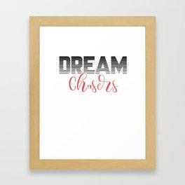 Dream chasers. Framed Art Print