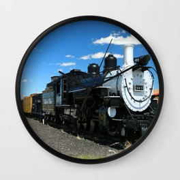 Cumbres And Toltec Steam Engine Wall Clock