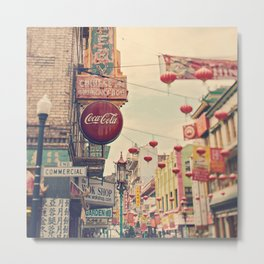 Chinatown (San Francisco) Metal Print