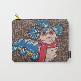 Labyrinth Worm Carry-All Pouch