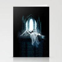 demon Stationery Cards featuring Demon by Joe Roberts