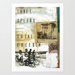 Total Freedom Art Print