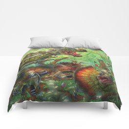 Tyrant Lizard King Comforters