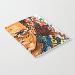 rapper,colourful,colorful,poster,wall art,fan art,music,hiphop,rap,logicc,lyric Notebook