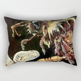 Art of Pollination Rectangular Pillow