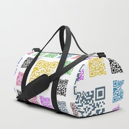 fun of QR Duffle Bag