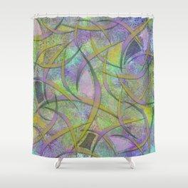 Filament Fever Shower Curtain