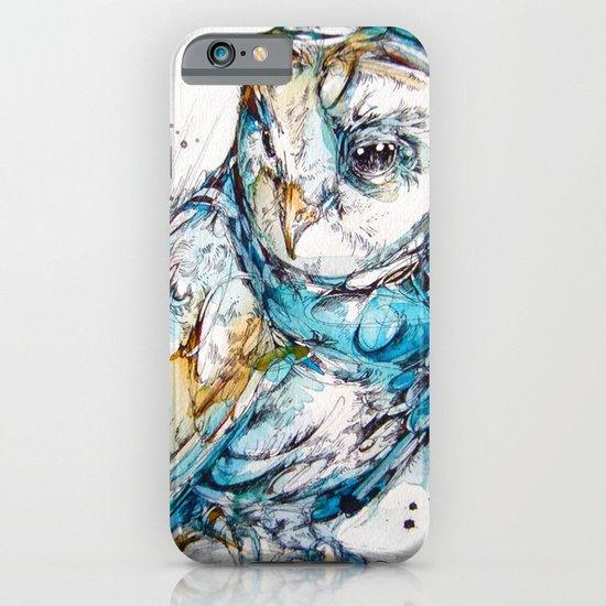 The Sea Glass Owl iPhone & iPod Case