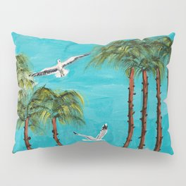 San Diego Palms Pillow Sham