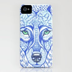 ice wolf iPhone (4, 4s) Slim Case