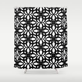LETTERNS - O - Times New Roman Shower Curtain