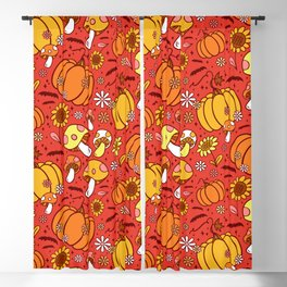 Psychedelic Fall Blackout Curtain