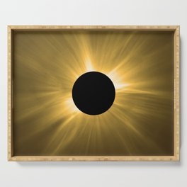 Total Solar Eclipse. Serving Tray