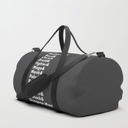 Dungeons and Dragons - Classes Duffle Bag