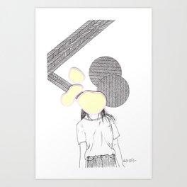See No Evil Pt VII Art Print