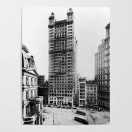 Park Row Building, New York City 1912 Poster
