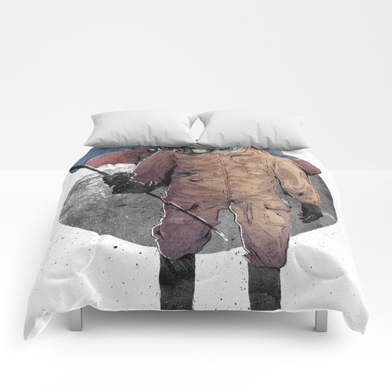 I looked, and I Looked Comforters
