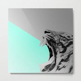 GROS CHAT Metal Print