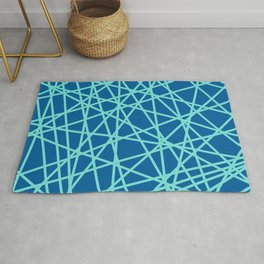 Lazer Dance Blue Rug