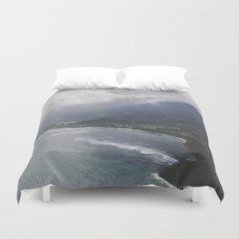 Hanalei Bay - Kauai, Hawaii Duvet Cover