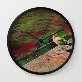 Disco seagul unicorn Wall Clock